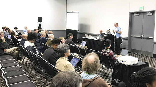 Photo of SC17 BOF session